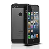 Photive Hybrid iPhone 5 Bumper Case - Black. Designed for The New iPhone 5.